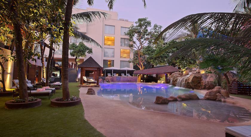 Новый отель на северном Гоа для семейного отдыха